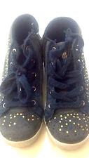 Giardino D'oro - scarpe da bambina - blu scur - N° 27 chiusura stringhe cerniera