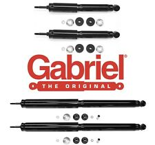 Front & Rear Shocks 1997-2003 Ford F150 4x4 Gabriel Set