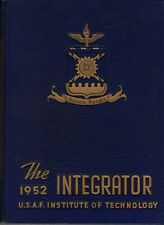 1952 Integrator - U.S.A.F. Institute of Technology Yearbook - NAMES IN LISTING!+