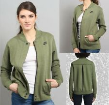 WOMENS NIKE NSW TECH FLEECE DESTROYER JACKET SIZE S (835544 387) PALM GREEN