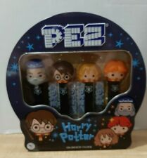 HARRY POTTER GIFT TIN PEZ SET OF FOUR with MYSTERY CANDY ~ NEW 2020