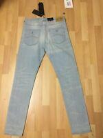 NWT Mens Armani Jeans MADE in ITALY J16 S/Denim Blue S/Slim W30 L32 H6 RRP£200