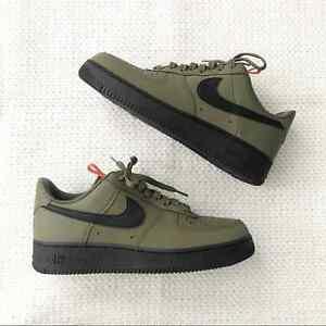 Nike Air Force 1 '07 Low Medium Olive Sneakers 10.5