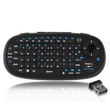 Mini Funk Kabellos Tastatur Touch Wireless Keyboard QWERTY 2,4GHz