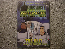 Roswell Conspiracies DVD animated Movie aliens myths legends 2 hrs The Bait New