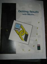 Rockwell Software 9399-WAB32GR Getting Results With RSLinx Manual, Used