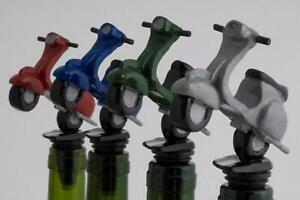 SCOOTER RED Bottle Stopper - Laureston - GREAT GIFT IDEA