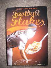 Justin Verlander's Fastball Flakes Box