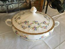 Pope Gosser China Covered Vegetable Bowl Made In USA
