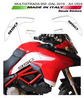 Adesivi per fiancate laterali - Ducati Multistrada 950 (dal 2019)