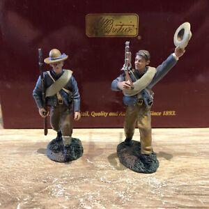 "Britains:  Boxed Set 31240- ""Huzzah For The Company"", ACW.  54mm metal models"