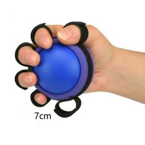 Hand Physiotherapy Rehabilitation Train Grip Ball Finger Orthosis Therapy #HD3