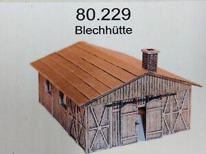 Artmaster 80.229 Blechhütte H0 1:87 Bausatz unbemalt Resin