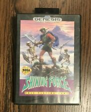Shining Force (Genesis) - Case and cart - excellent condition - free shipping!
