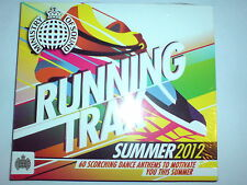 MINISTRY OF SOUND - RUNNING TRAX SUMMER 2012 - 2 CD ALBUM