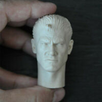 "Blank 1/6 Scale War Machine The Punisher Head Sculpt Unpainted Fit 12"" Figure"