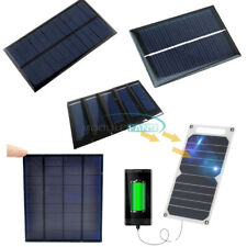 0.6W/1W/10W 0.5/5/6V 100mA Epoxy Cell Photovoltaic Battery Charger Solar Panel