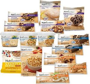 NUTRISYSTEM 67 ITEMS bars bags BREAKFAST LUNCH SNACK chocolate MANY KINDS 2020