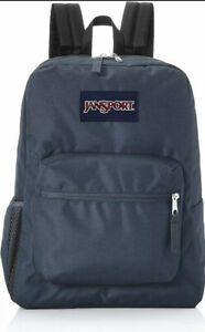 NWT JANSPORT Cross Town Backpack Deep Grey Gray NEW