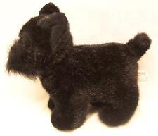 "Russ SHADOW THE BLACK SCOTTIE DOG 9"" Plush Stuffed Animal"