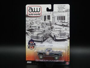 2021 AUTO WORLD 1978 CHEVY K10 GULF DIRTY PICKUP 4X4 CTC EXCLUSIVE 1 OF 2496
