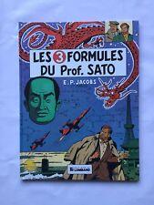 Blake et Mortimer Les 3 Formules du Professeur Sato 1 / BD 1989 / JACOBS LOMBARD
