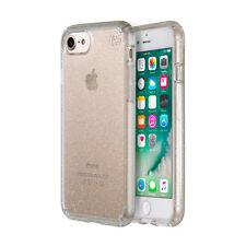 Speck Presidio Clear Glitter Impactium Slim Tough Case iPhone 8/7 Gold Color