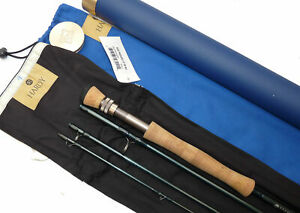 Hardy Proaxis-X Sintrix 9' graphite travel fly rod, line #9 with bag, tube & ...