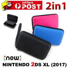 2in1 Hard Protective Carry Case+Screen Protector New Nintendo 2DS XL/LL Console
