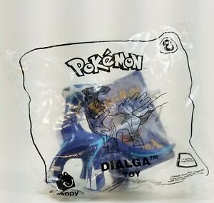 2018 McDonald's Pokemon Happy Meal Toy #8 Dialga SEALED with Card Collectible