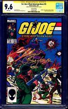 G.I. Joe A Real American Hero #19 CGC SS 9.6 signed Arthur Burghardt 2nd PRINT