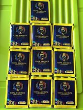 PANINI 2016 COPA AMERICA CENTENARIO 10 PACKS (50 STICKERS)