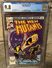 1983 New Mutants #1 Comic Book CGC 9.8 - 1st Appearance Of Karma
