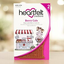 Heartfelt Creations Stamp set, Berry Cafe, HCPC-3734