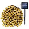 72ft 200 LED Outdoor Solar Power String Light Garden Christmas Fairy Xmas Decor