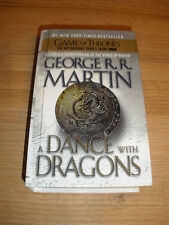 A Dance with Dragons - George R.R. Martin (Hardcover) Turtleback - Variant