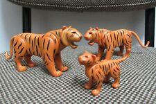 Playmobil - Animales Selva Jungla - Familia Tigres Cria Tigre - 7037 - COMPLETO