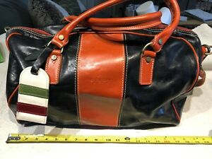 CL FACTORY Italian Hand Leather Tote Handbag Shoulder Strap Purse Women's Bag