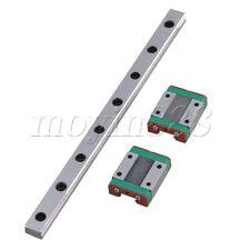20cm MGN12 Guide Linear Sliding Rail and 2 Block Linear Sliding Set