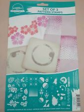 Screen Sensation SET OF 3 PATTERN STAMP COLLECTION 436406 40++ Stamps