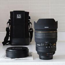 Sigma EX 15-30mm F/3.5-4.5 (Nikon fit full frame ultra-wide zoom)