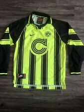 BORUSSIA DORTMUND 1996 1997 HOME FOOTBALL Vntg JERSEY BVB CHAMPIONS LEAGUE NIKE
