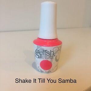 Gelish Soak Off Gel Colour - Shake It Till You Samba *Genuine* Made in the USA