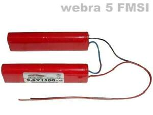 Senderakku für Webra 5 FMSI 9.6V1500 mAh ...