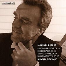 Brahms / Plowright - Piano Music 4 [New SACD]
