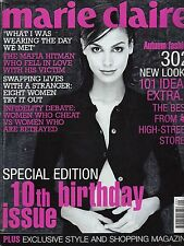 MARIE CLAIRE SEPTEMBER 1998 INES SASTRE COVER *10TH BIRTHDAY ISSUE*