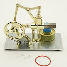 Mini hot air stirling engine model generator motor steam power educational WDA