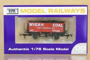 DAPOL WIGAN COAL CORP 5 PLANK WAGON 126 AGCM ASTLEY GREEN LIMITED EDITION ns