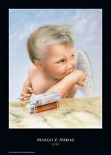 """Rock-Poster """"VAN HALEN - 1984 Angel with Candy Cigarettes"""" von Margo Z. Nahas"""