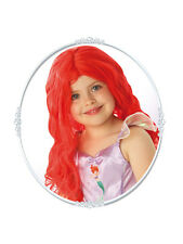 Princesa Ariel Peluca Fancy Dress Costume Disney Headwear Niños Niñas BN